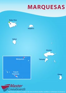 Marquesas Dive Map