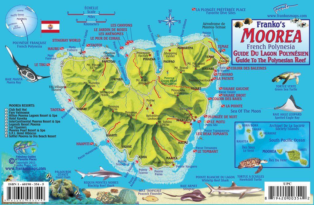 Tourism Snapshot Moorea Far And Away Adventures