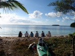 Kayak and Guests on Beach.jpg